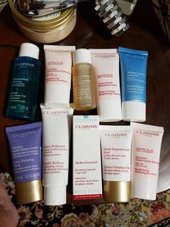 BN CLARINS Intensive Moisture Quenching Serum and more