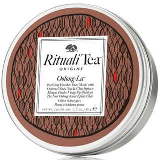🚚 ORIGINS RitualiTea Oolong-La Purifying Cleansing Mask