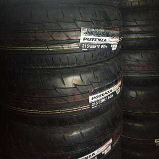 Bridgestone Potenza Re003 225/45/17