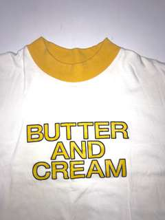 BUTTER AND CREAN MOCK NECK