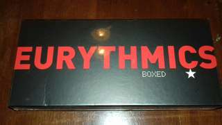 Eurythmics 8 Studio Album Box set Remastered UK edition sealed with over 40 Bonus Tracks Deluxe CD