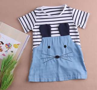 Cute Short Sleeve Dress