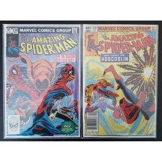 Amazing Spider-Man #238,#239 (1983 1st Series) 1ST Appearance of The Hobgoblin! RARE Must-Have Key-Books, ICONIC!