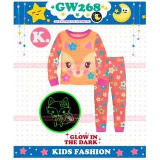 pajamas anak laki gw268 k