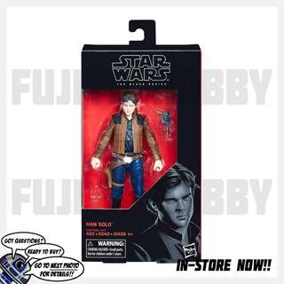Star Wars <Solo: A Star Wars Story> The Black Series #62 Han Solo 6-inch Figure (E1200/B3834)