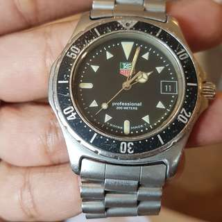Tag Heuer (RUSH NEGOTIABLE) Professional 200 Meters Diver 973.006 / 2000 series