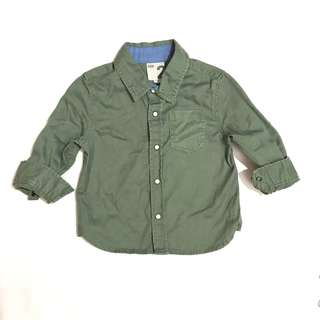 COTTON ON denim green longsleeves
