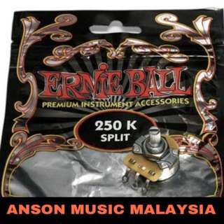 Ernie Ball 250K Split Shaft Potentiometer
