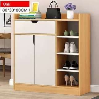 BN FREE DELIVERY Shoe Cabinet with Cabinet and Drawer