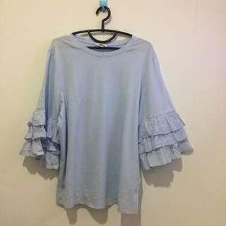 H&M t-shirt (blue)