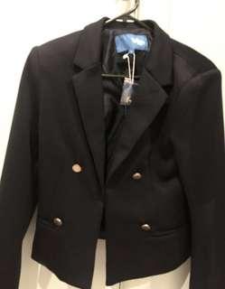 Black blazer S / AU8