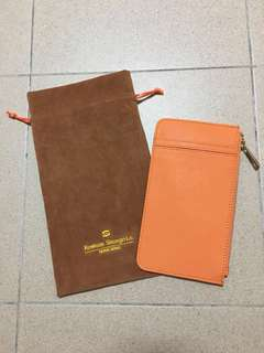 PU Leather Card Coin Key Pouch Holder