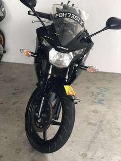 Honda CBR150 coe till 2023