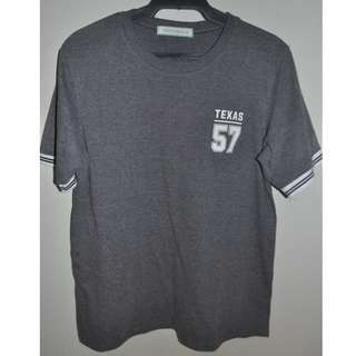 GTW URBAN SM DEPARTMENT STORE TEXAS GREY SHIRT