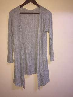 Grey cardigan or coverup
