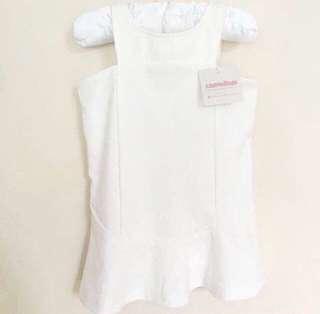 ⚡️ FLASH SALE ⚡️BN Camouflage Girl's White Dress 💯
