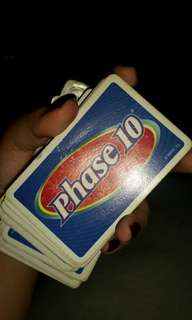 LOOKING FOR!! Phase 10 cards