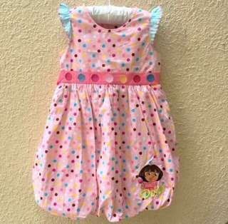⚡️FLASH SALE ⚡️BN Nickelodeon Dora's Pink Dress