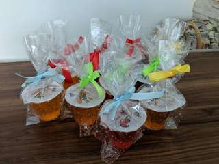 Jelly cup goodie bag