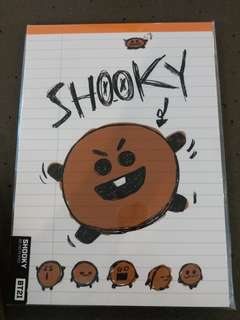 BT21 Cooky TaTa Shooky Chimmy notebooks
