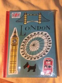 Blank Book London