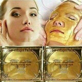 Collagen crystal facial mask