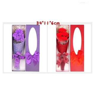 Mother's Day Surprise *Soap Carnation Flowers with Gift Box