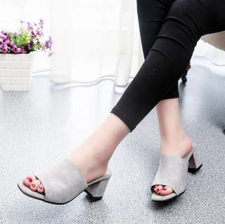 [PO] thick drag summer sandals