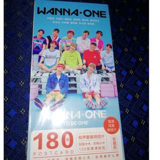 Wanna One Post Card