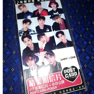 Wanna One Post Card Set