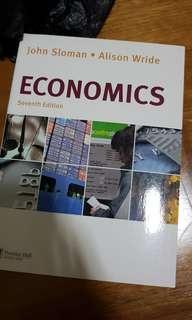John Sloman • Alison Wride Economics Textbook