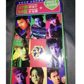 EXO Post Card Set