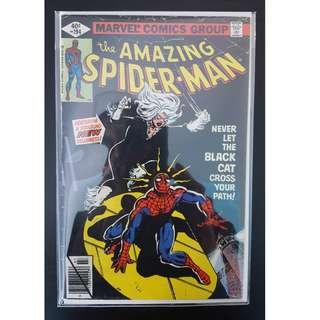 Amazing Spider-Man #194 (1979 1st Series) 1ST Appearance of The Black Cat! RARE Must-Have Key-Book, ICONIC!
