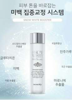 Secret Key Snow White Booster 150ml Original Korea
