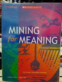 Lower Secondary Mining For Meaning