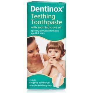 BNIB Dentinox Teething Toothpaste  for sale !