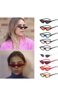 Tiny small vintage cat eye sunglasses