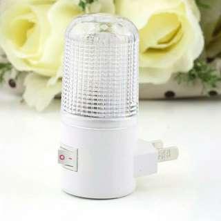 Lampu Malam 4-LED Wall Bedroom Bulb 1W
