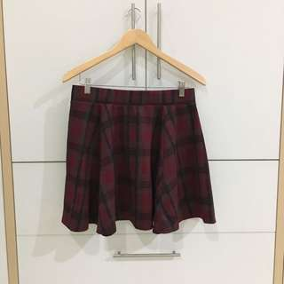 Newlook plaid skirt
