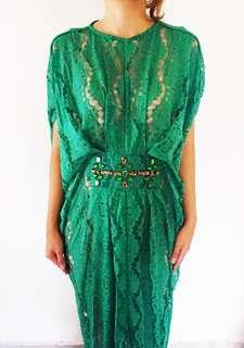 """Kaftan """"SALMA"""" Emerald"""