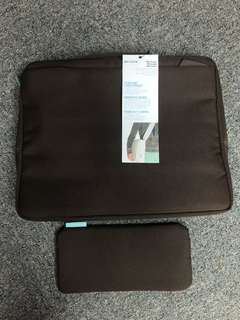 "BELKIN new 15.4"" widescreen laptop carrier and messenger bag"