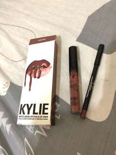 Kylie lip kit 霧面唇膏 love bite