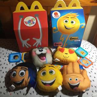Emoji Movie Happy Meal