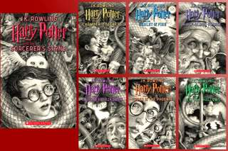 (Pre Register) Harry Potter 20th Anniversary Scholastic Edition!!