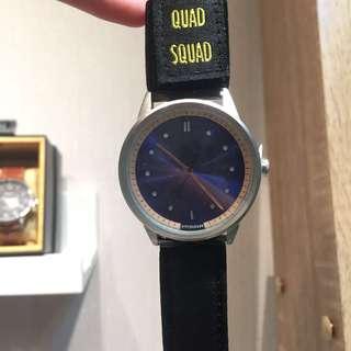 新加坡 Hypergrand 手錶 02Nato Bomber BW02BLBLK