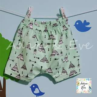 Assorted Graphic Shorts E9 –Teepee Tent Shorts $8.90