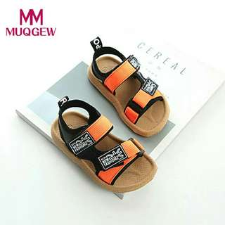 School Baby Boys Beach Sandals Sneaker Toddler Children Patchwork Casual Single  Children's Shoes