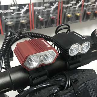 Eagle light for electric scooter