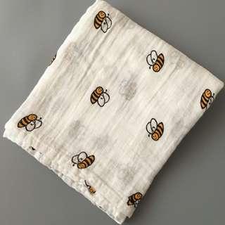 Baby Blanket Muslin Blanket Swaddle Blanket Napkin Towel 110cm± x 110cm± (Variety Design)