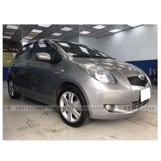 2008年-豐田-YARIS 買車不是夢想.輕鬆低月付.歡迎加LINE.電(店)洽